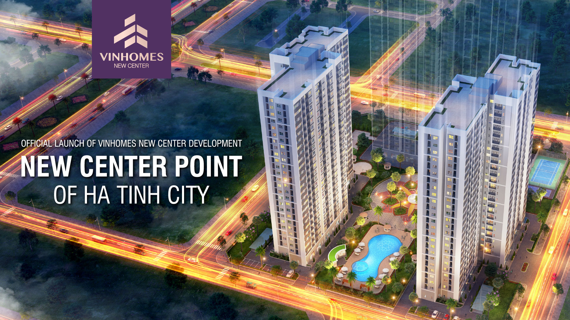 Vinhomes New Center project official launched - New center of Ha Tinh City